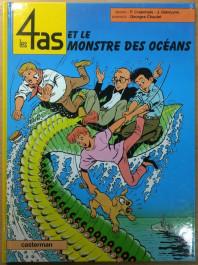 Les 4 as et le Monstre des Océans (K)