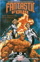 Fantastic Four 1 - New Departure, New Arrivals (K)