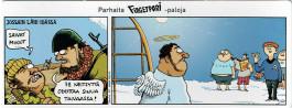 Fingerpori-sarjakuvataulu - 72 neitsyttä