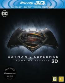 Batman v Superman - Dawn of Justice (Blu-ray 3D + Blu-ray)