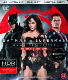 Batman v Superman: Dawn of Justice - Ultimate Edition (4K Ultra HD + Blu-ray)