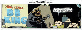 Fingerpori-sarjakuvataulu - BB King