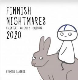 Finnish Nightmares -seinäkalenteri 2020