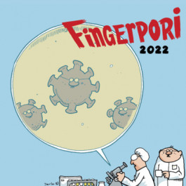Fingerpori tiedekalenteri 2022
