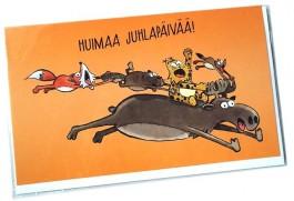 Kamala luonto / Huimaa juhlapäivää! -2-osainen kortti
