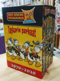 Aku Ankan taskukirja - Taskarin parhaat 1970-2010 box (K)