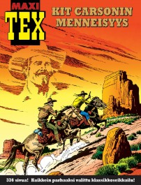 Tex Willer - Maxi-Tex 32: Kit Carsonin menneisyys
