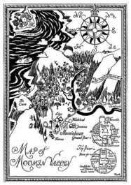 Map of Moomin Valley -kortti