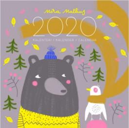 Mira Mallius -seinäkalenteri 2020