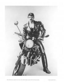 Tom of Finland - Moottoripyörämies-juliste