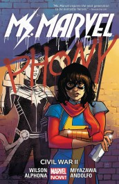 Ms. Marvel 6 - Civil War II