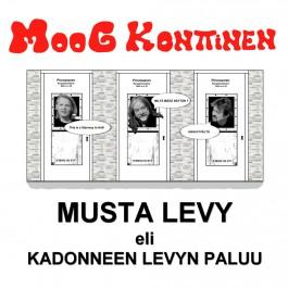 Musta Levy eli Kadonneen Levyn paluu (LP)