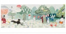 Tove Jansson -muumipostikortti - Muumilaakso