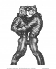 Tom of Finland - Leather duo -juliste