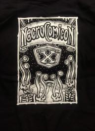 Necrocomicon X t-paita