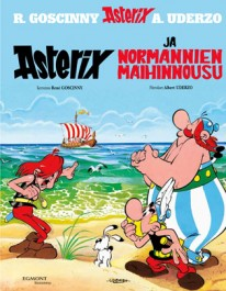 Asterix 9 - Asterix ja Normannien maihinnousu (kovak.)