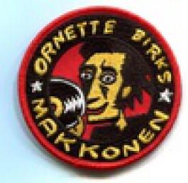 Ornette Birks Makkonen -kangasmerkki