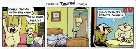 Fingerpori-sarjakuvataulu - Päikkärit