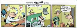 Fingerpori-sarjakuvataulu - Paiskin töitä