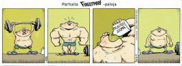 Fingerpori-sarjakuvataulu - Palautusjuoma