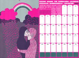 Pussailua barrikadeilla -kalenteri 2021