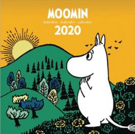 Muumi -seinäkalenteri 2020 (iso)