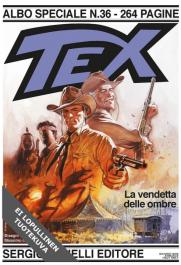 Tex Willer Suuralbumi 43 - Varjojen kosto (ENNAKKOTILAUS)