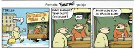 Fingerpori-sarjakuvataulu - Suvisaaristo