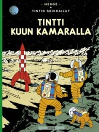 Tintin seikkailut 17 - Tintti kuun kamaralla