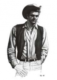 Tom of Finland / Cowboy-postikortti