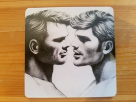 Tom of Finland -lasinalunen 1 (Blond hair)