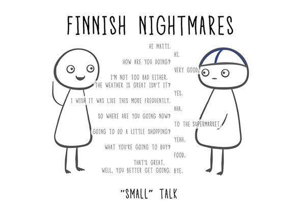 Kuvahaun tulos haulle finnish small talk