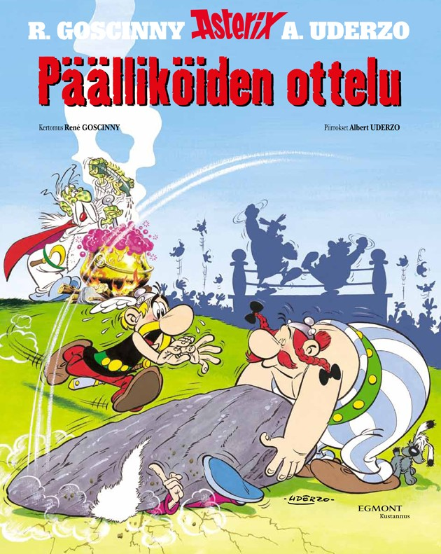 Asterix 7 - Päälliköiden ottelu (kovak.)