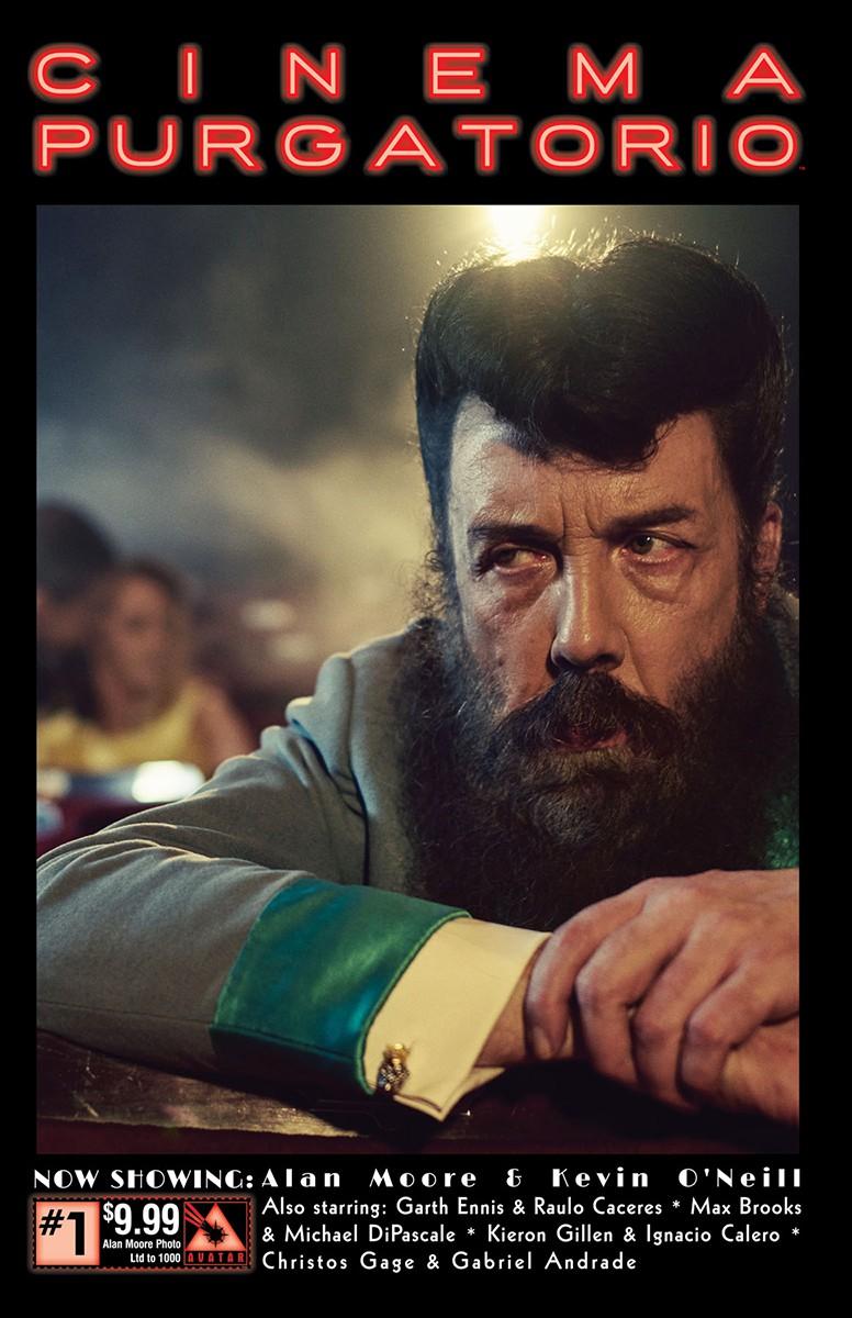 Cinema Purgatorio #1 ALAN MOORE PHOTO COVER