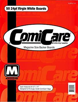 ComiCare Magazine Size Backer Boards (50)