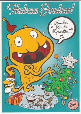 Jasso-joulukortti