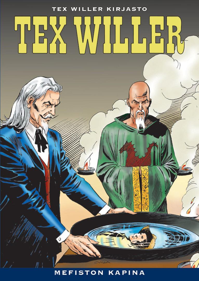 Tex Willer Kirjasto 38 - Mefiston kapina