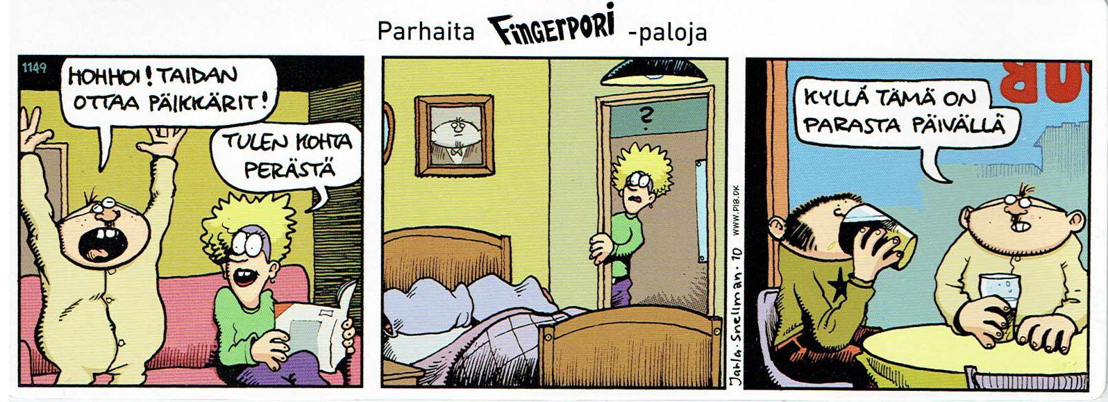 Fingerpori Päikkärit