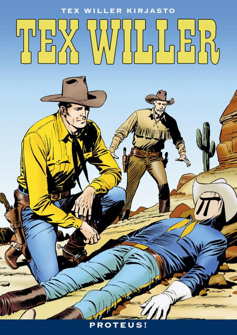 Tex Willer Kirjasto 41 - Proteus!