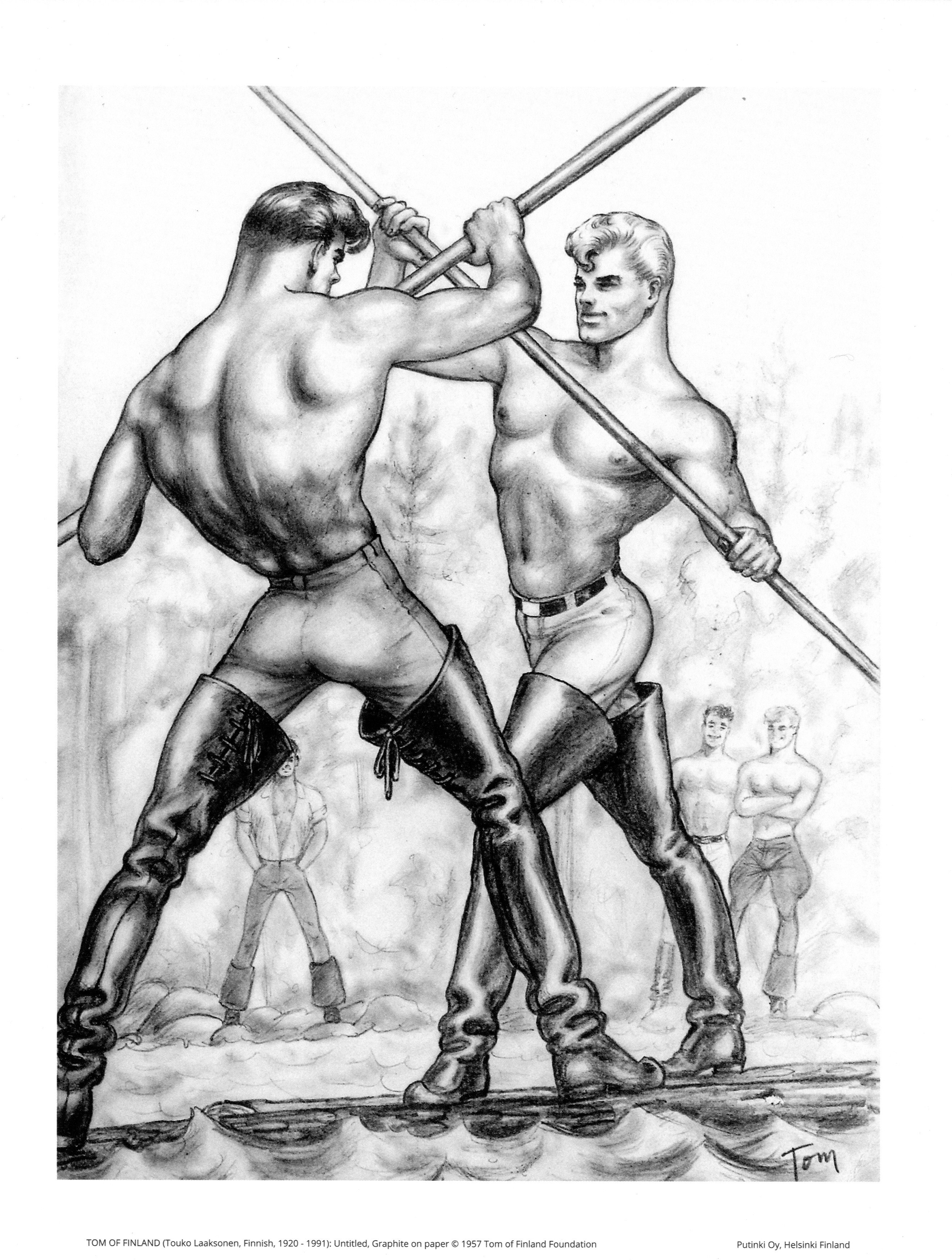 Tom of Finland - Seiväsmiehet-juliste