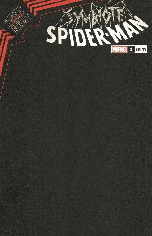 Symbiote Spider-Man: King In Black #1 (BLACK BLANK VARIANT COVER)