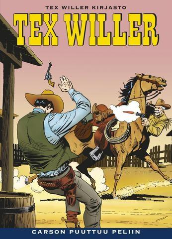 Tex Willer Kirjasto 11 - Carson puuttuu peliin
