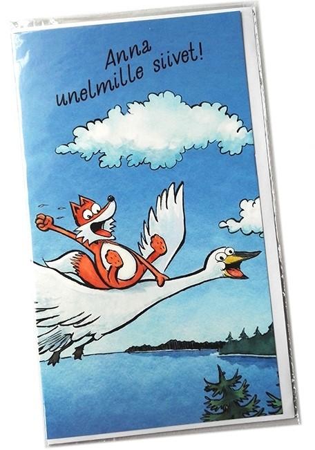 Kamala luonto / Unelmille siivet -2-osainen kortti