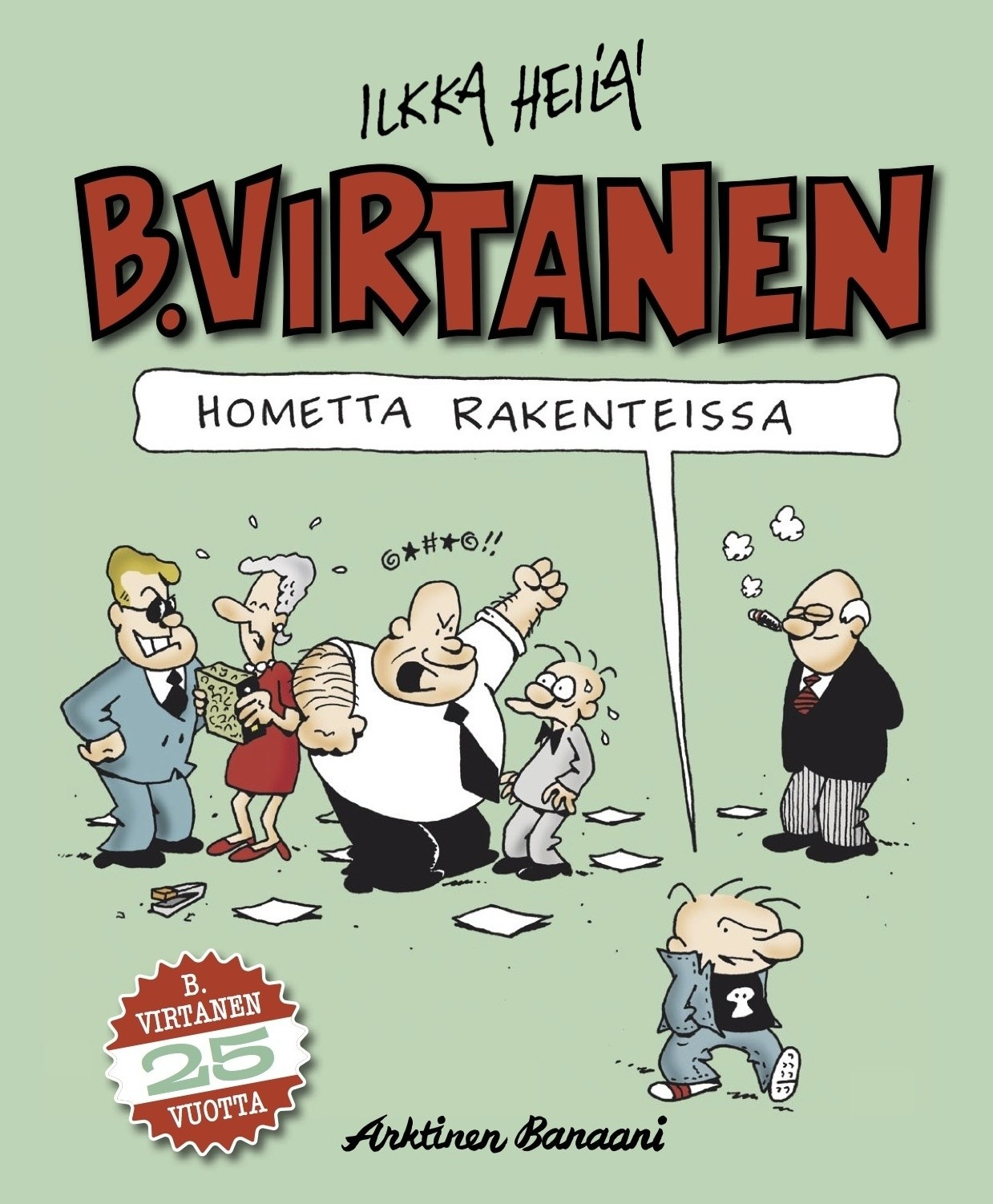 B Virtanen Sarjakuva Netissä