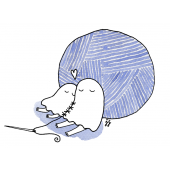Kummitus-kortti - Kummitukset ja lankakerä