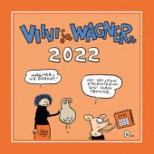 Viivi ja Wagner -seinäkalenteri 2022