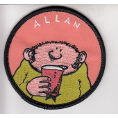 Fingerpori-kangasmerkki - Allan