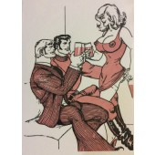Tom of Finland / Kippis-kortti, 2-os.