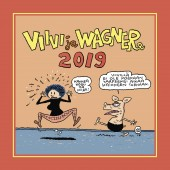 Viivi ja Wagner -seinäkalenteri 2019