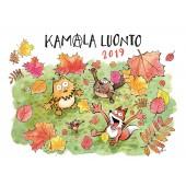 Kamala luonto -seinäkalenteri 2019